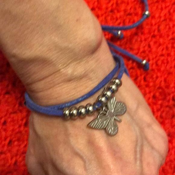 unknown Jewelry - Adjustable leather bracelet. Brand new.